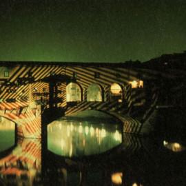 Gruppo 9999, proiezione sul ponte vecchio