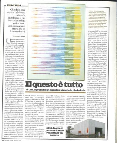 Rolling Stone Magazine, numero 8 - Giugno 2004, pag. 180 articolo di Luca Vitone