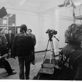 Link Project, Sala Bianca: Foto delle riprese del film Road Jocke