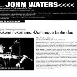 Rivista Link Project 1997, incontro con John Waters