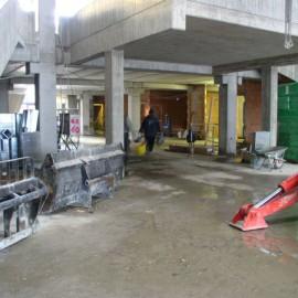 Lavori di costruzione del nuovo Link al quartiere San Donato