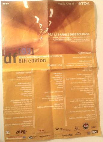 Locandina Distorsoni 2003 Link  © Fabio Aloisi