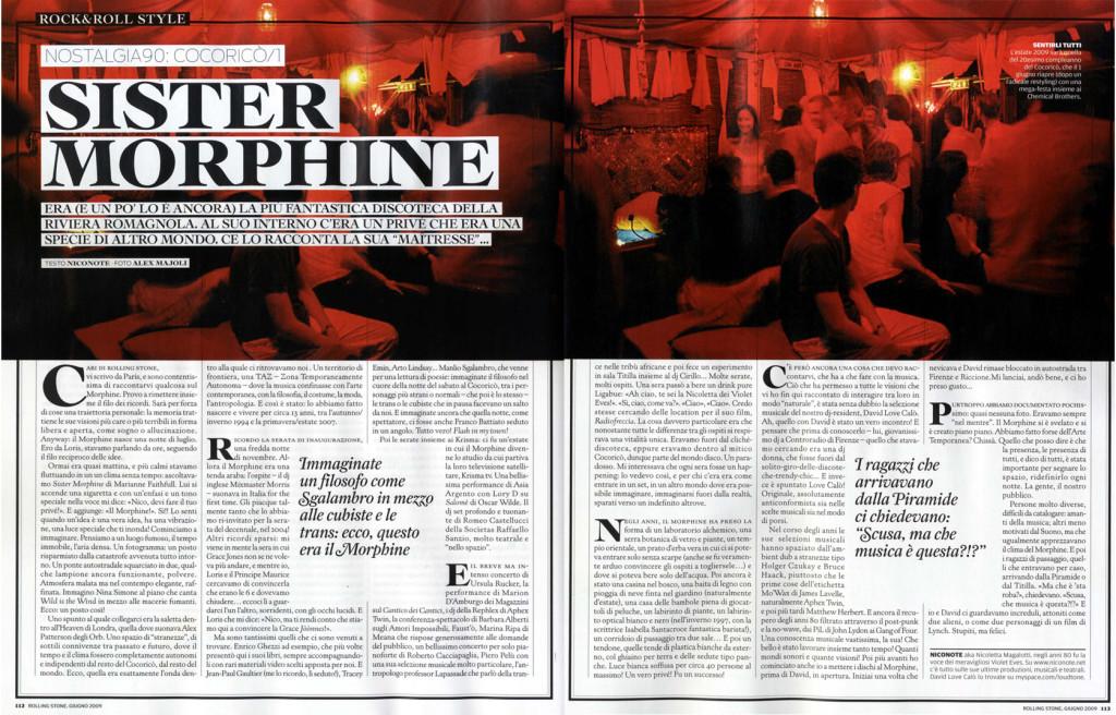 Rolling Stone, giugno 2009