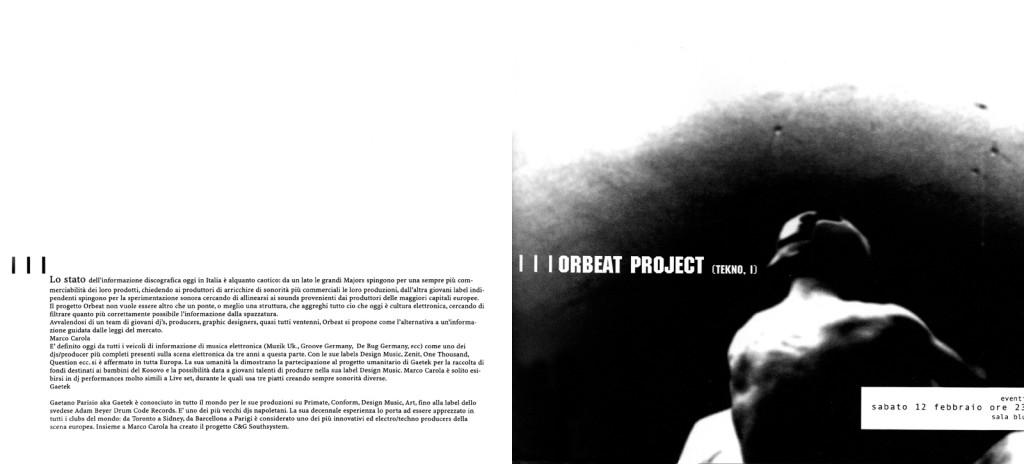 Rivista Link Project 2000, gennaio-febbraio, Orbeat Night