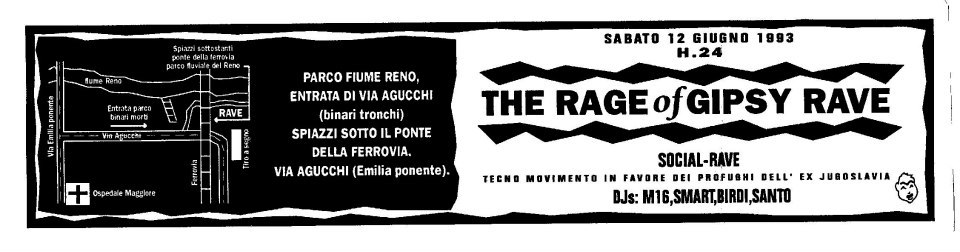 The Rage of Gipsy Rave, 1993 Bologna