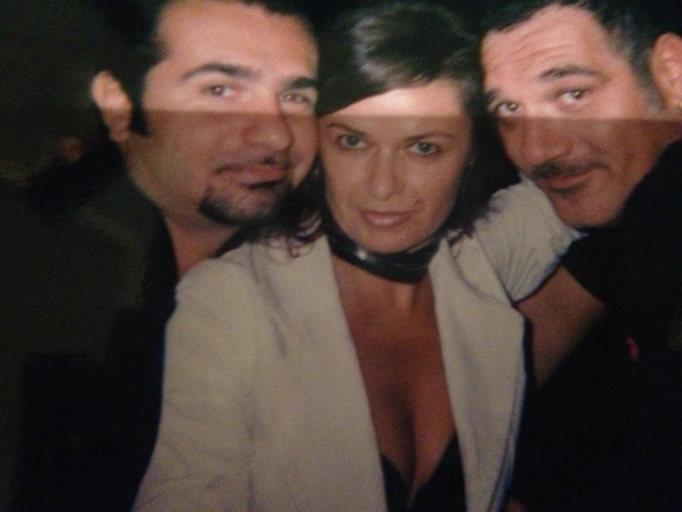 Gianluca Tantini gestore dell'Ethos Mama Club, Sabrina Bertaccini pr dell'Ethos (insieme a Valentina Cecchini si facevano chiamare Le Pettegoliere) e Dj Ralf, tutti all'Ethos Mama Club