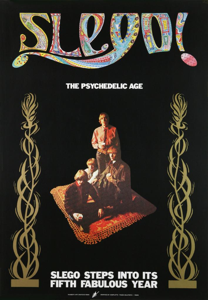 Manifesto 70x100 realizzato per la stagione 1984-1985, stampa offset a cinque colori, artwork by G.T. Garattoni