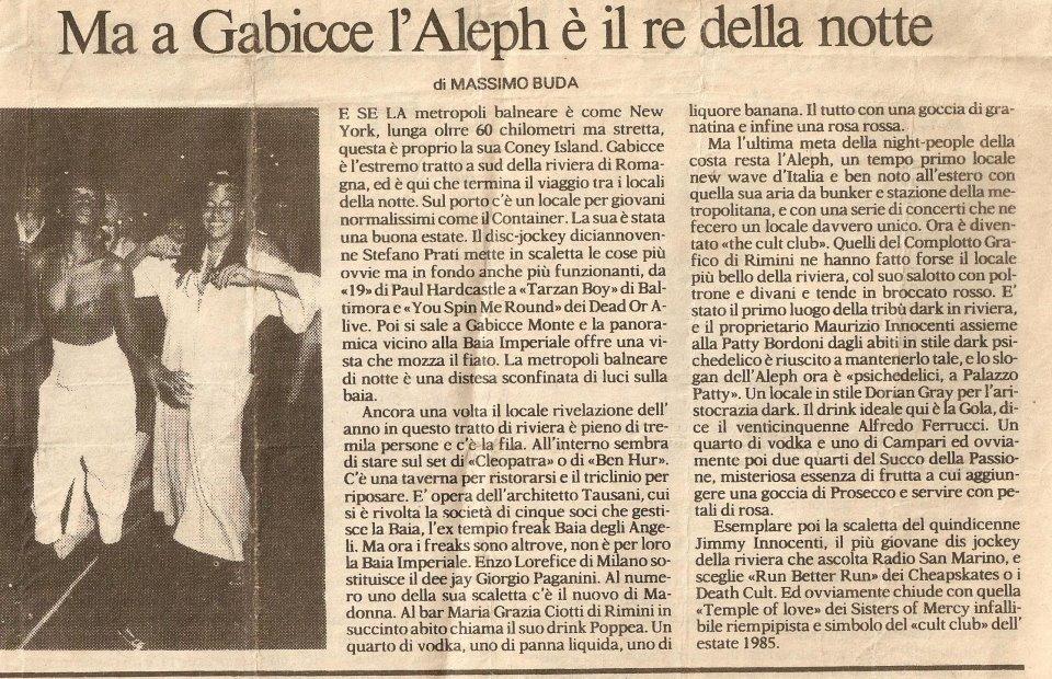 La Repubblica, 1986