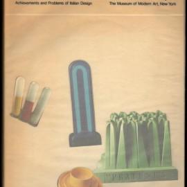 Cover del Catalogo edito dal MoMA per la mostra The New Italian Domestic del 1972