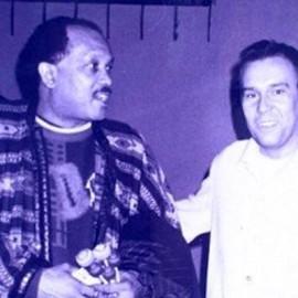 Luca Trevisi con Roy Ayers @ Cap Creus (Imola) 1993