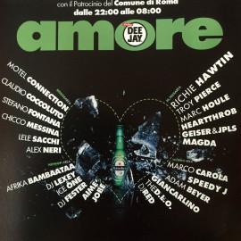 Flyer Amore Capodanno 2004 Roma