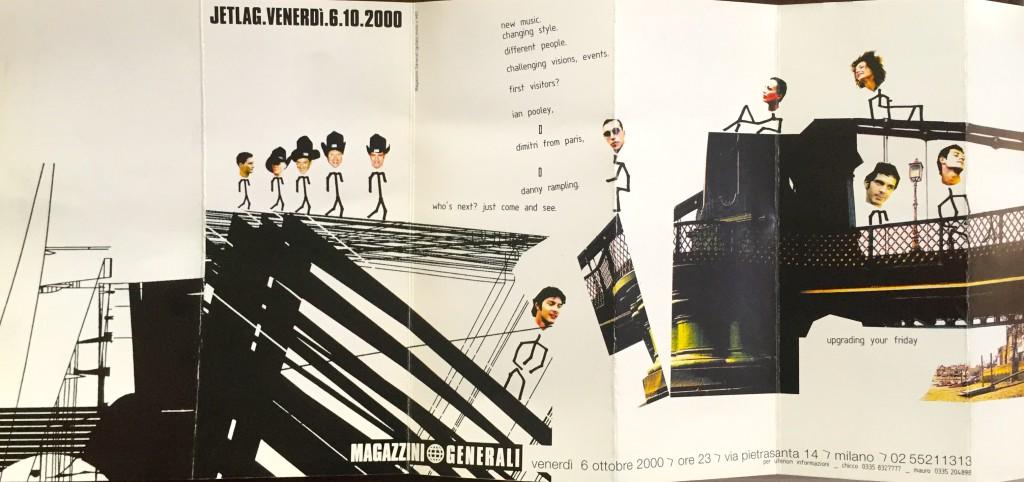 Flyer di ottobre 2000 di Jetlag