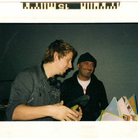 Bruno Bolla & Gilles Peterson @ Rolling Stone 1999