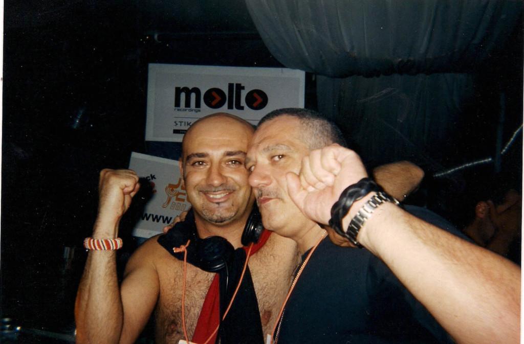 Bruno Bolla e Ralf a Bologna