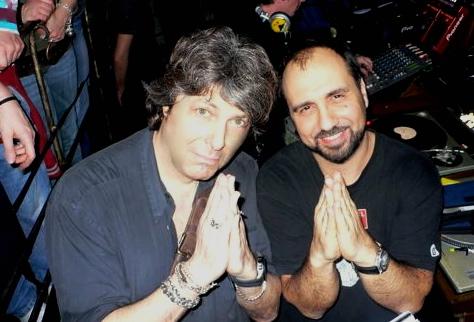 Claudio Coccoluto e Giancarlino due amici soci del Goa
