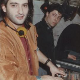 Marco Trani e Claudio Coccoluto all'Hysteria